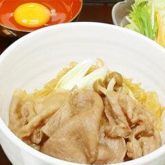 前沢牛すき焼き丼